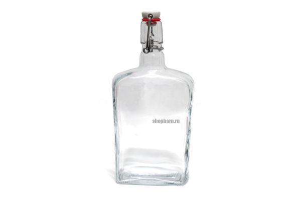 Бутылка стеклянная Малек 750 мл